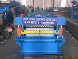 Double Deck Rolling Machine