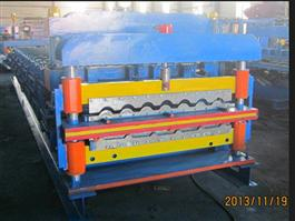Double Panel Roll Forming Machine